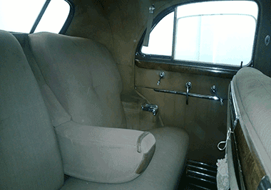 1941 Cadillac sale interior