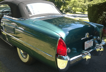 1953 Lincoln Capri taillights