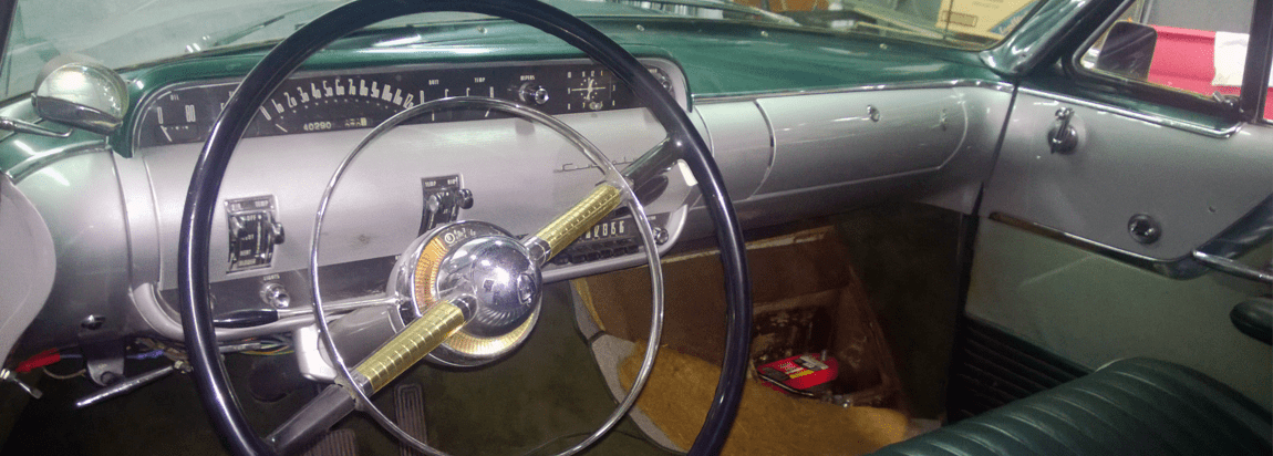 1953 Lincoln Capri interior