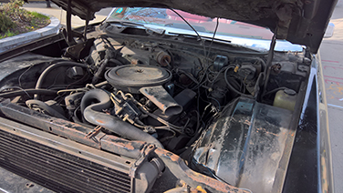 1969 Cadillac DeVille engine