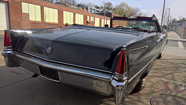1969 Cadillac DeVille tail light