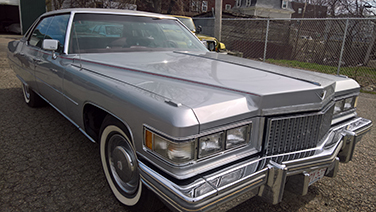1975 cadillac Deville front grill