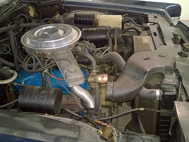 1979 Lincoln Town Car engine
