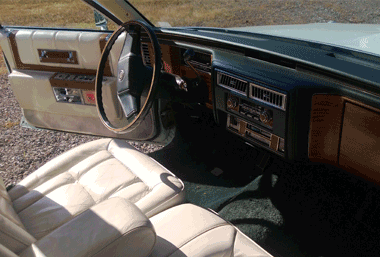 1980 cadillac fleetwood interior