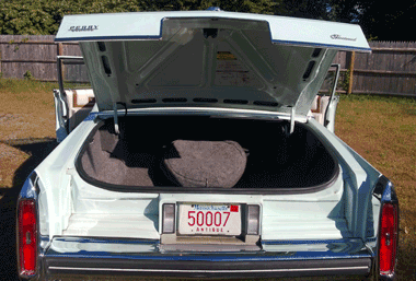 1980 cadillac fleetwood trunk