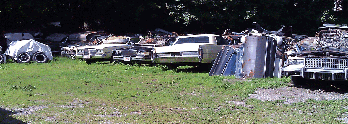 Buy Sell Old Cadillacs Cadillac Salvage Junkyard Boston, MA